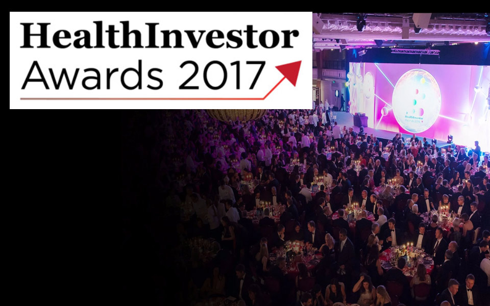 "ASPIRICO shortlisted at the prestigious Health Investor 2017 Awards for ""Technology Provider of the Year"""