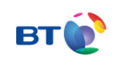 Aspirico partnering with BT Logo
